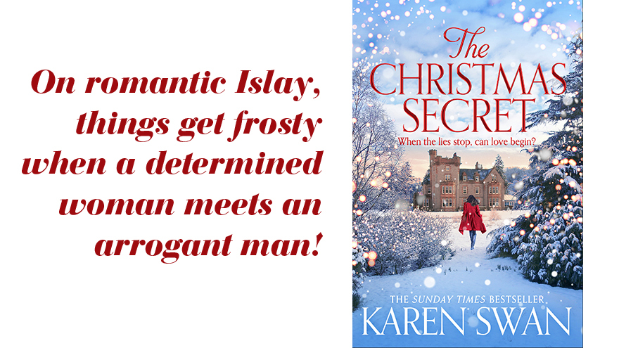 Book cover of A Christmas Secret by Karen Swan