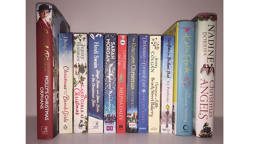 12 christmas books