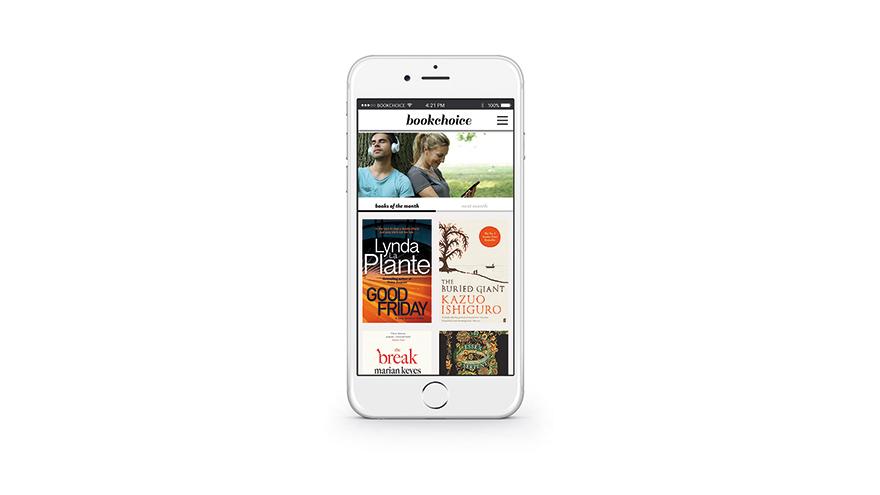 Book Choice app