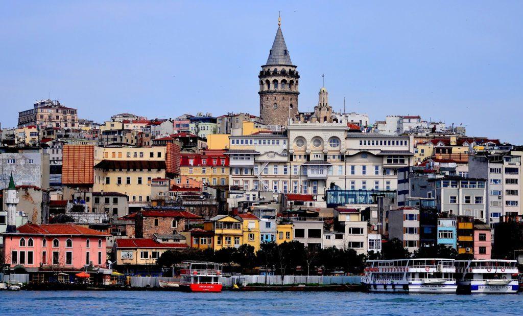 Turkish river bank