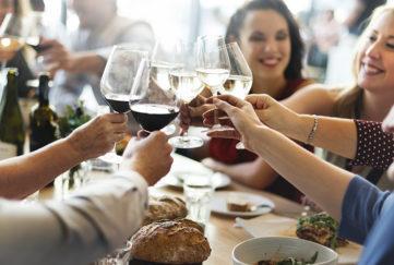 Women raising a toast Pic: Istockphoto