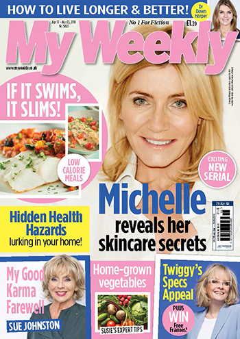 My Weekly cover april 14 featuring Michelle Collins