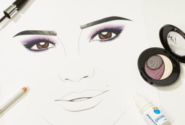 Illustration of make up
