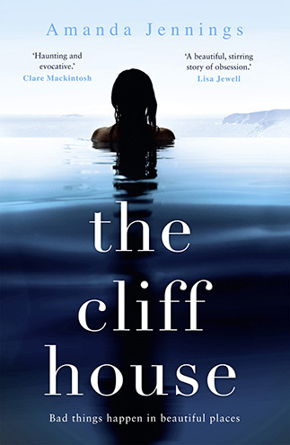 Cover of The Cliff House, showing a woman in the sea
