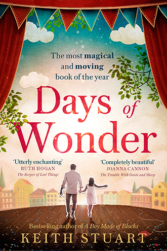 Days of wonder book cover showing father and little girl