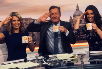 The Good Morning Britain presenters