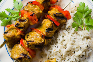 Indian Spiced Lamb Kebabs