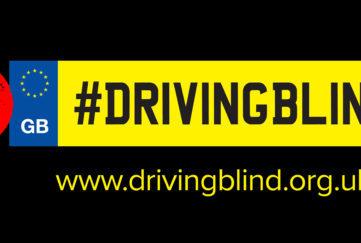 Driving blind heading