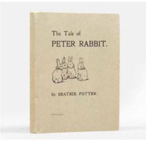 Peter Rabbit book cover