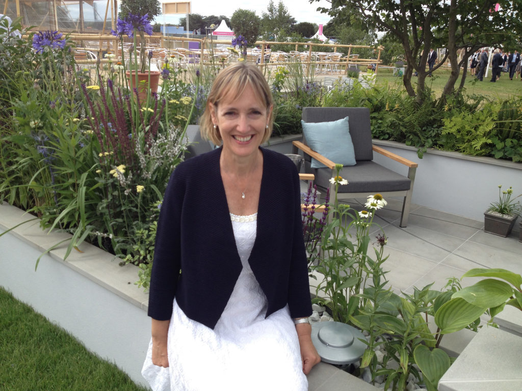 Sarah Squire, Deputy Chairman at Squire's Garden Centres