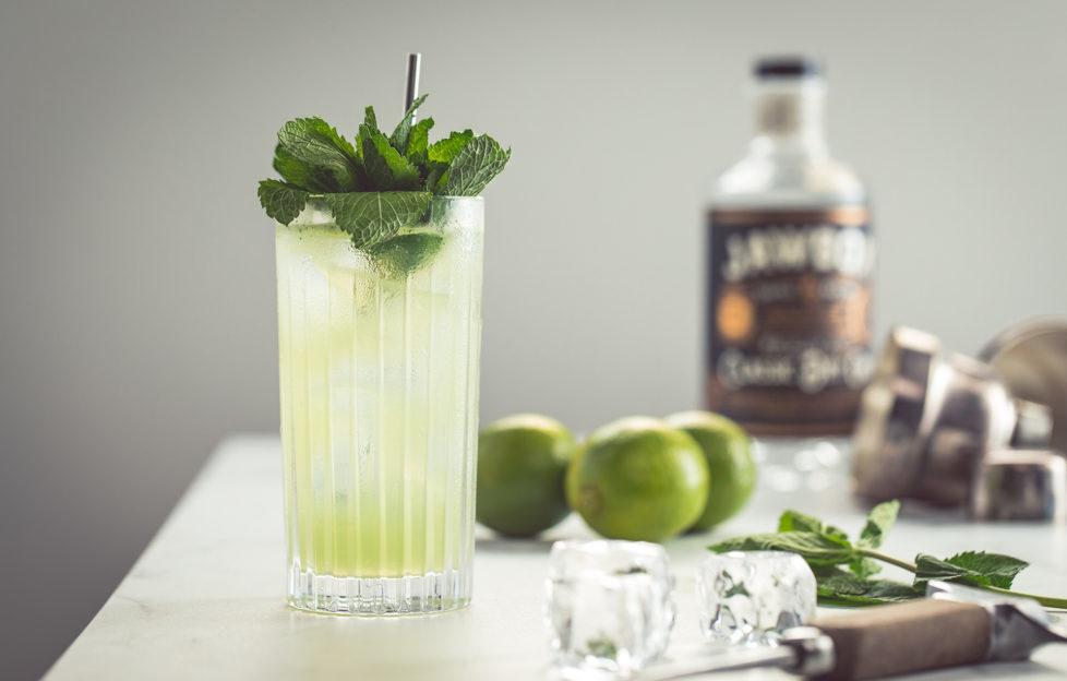 Crisp, refreshing Jawbox Gin Mojito