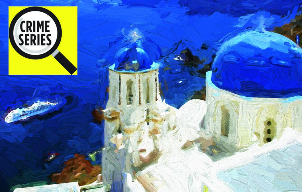Santorini illustration Pic: Rex/Shutterstock