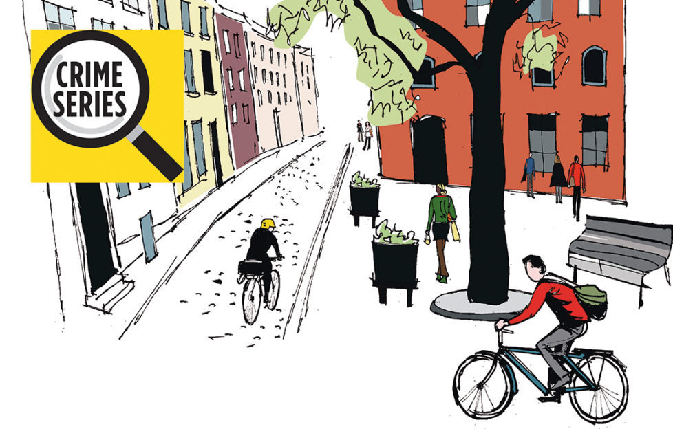 Illustration of a man on a bike Pic: Rex/Shutterstock