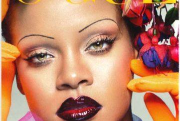 Rihanna flower crown