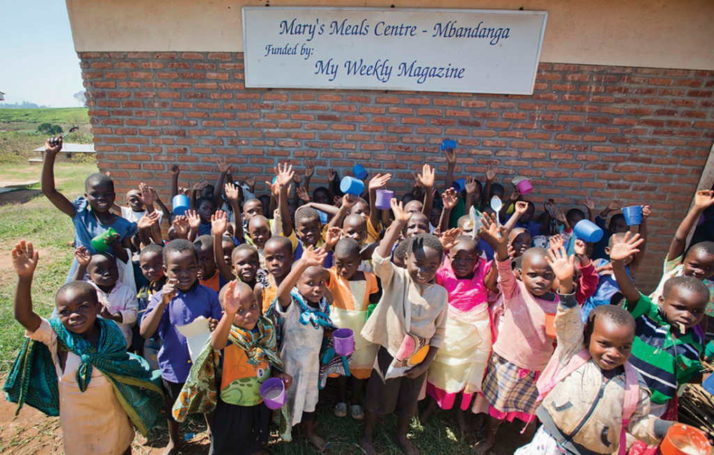 A Mary's Meals Centre provided by My Weekly Pic: Chris Watt