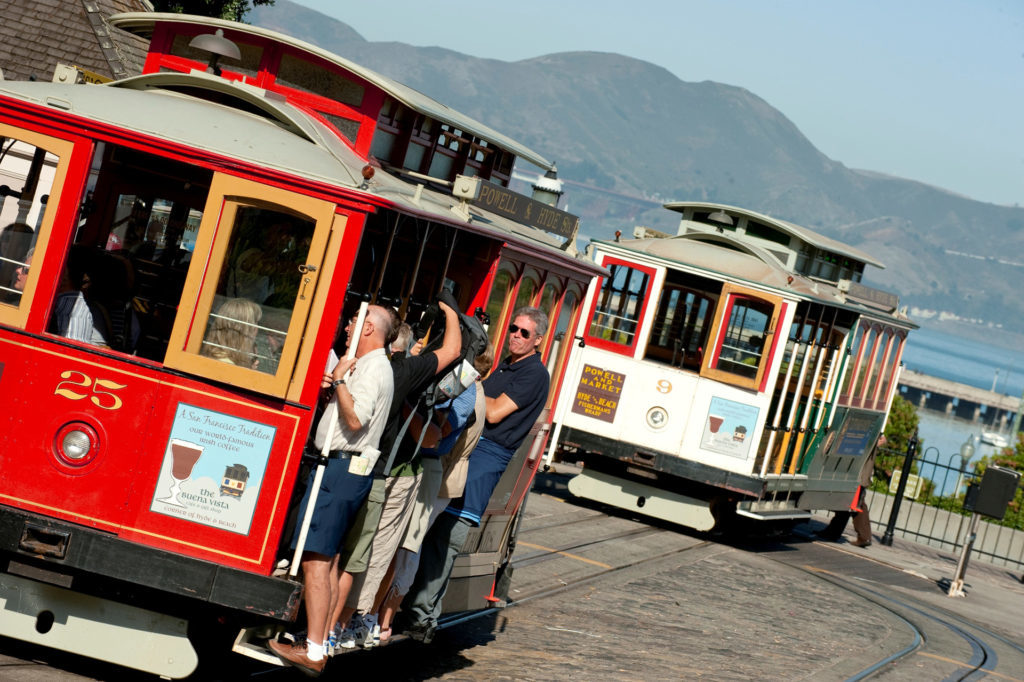San Francisco Bay Area Cable Car