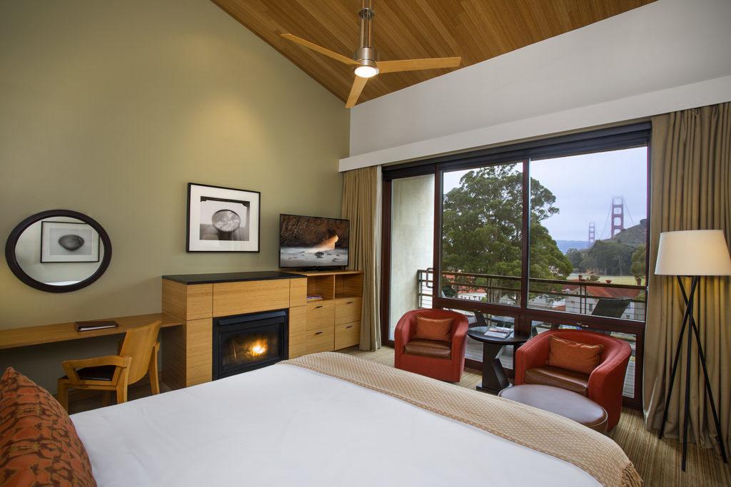 Cavallo Point Lodge room