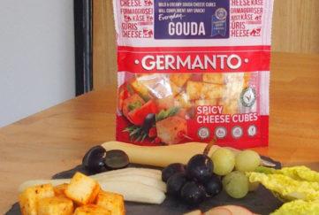 Germanto Gouda Cheese and snacks