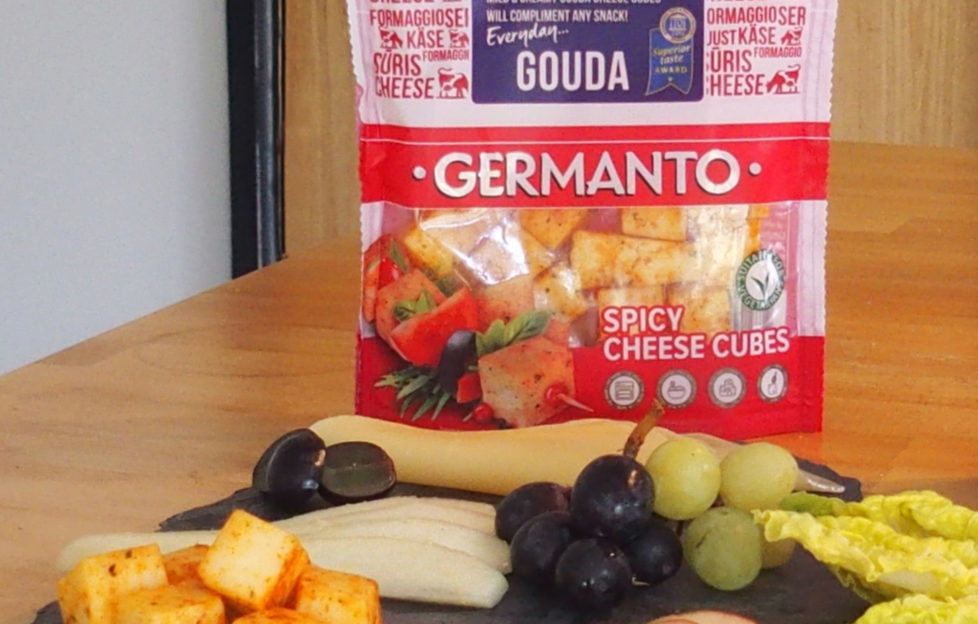 Germanto Gouda Cheese and snacks