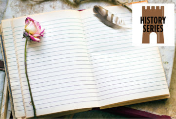 A writing pad open Pic: Thinkstock