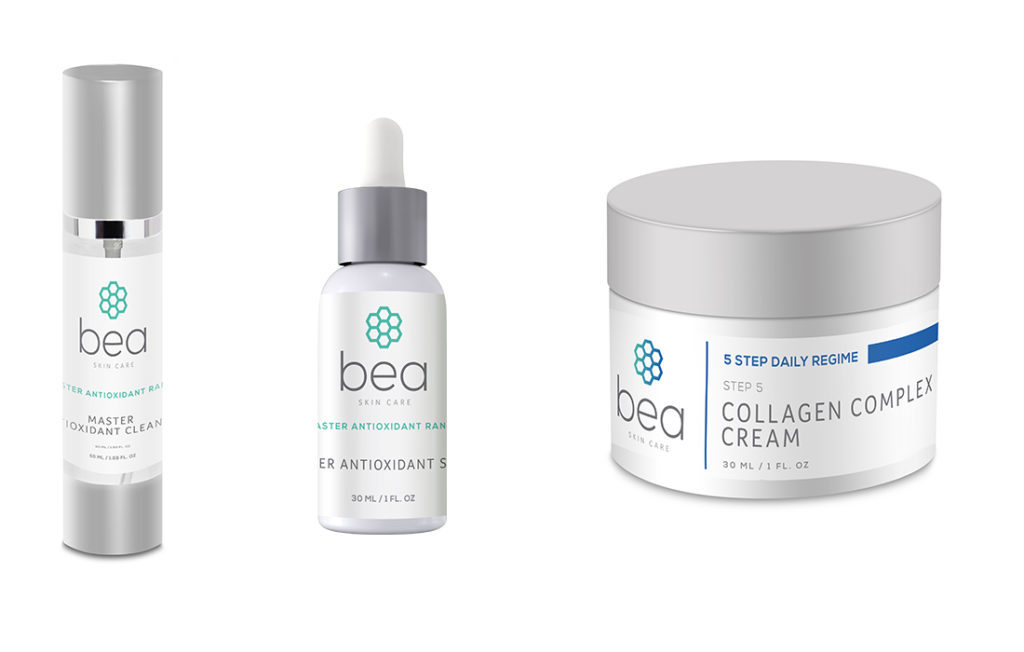 Bea brand antioxidant products and collagen cream