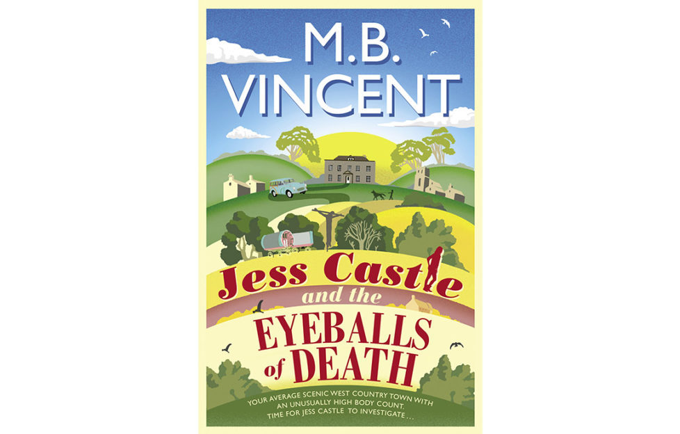 Cover of Jess Castle and the Eyeballs of Death