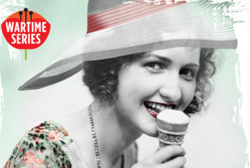 An old photo with a lady eating an ice cream Pictures: Getty Images, Mandy Dixon
