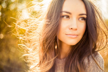 Naturally beautiful lady outdoors Pic: Istockphoto