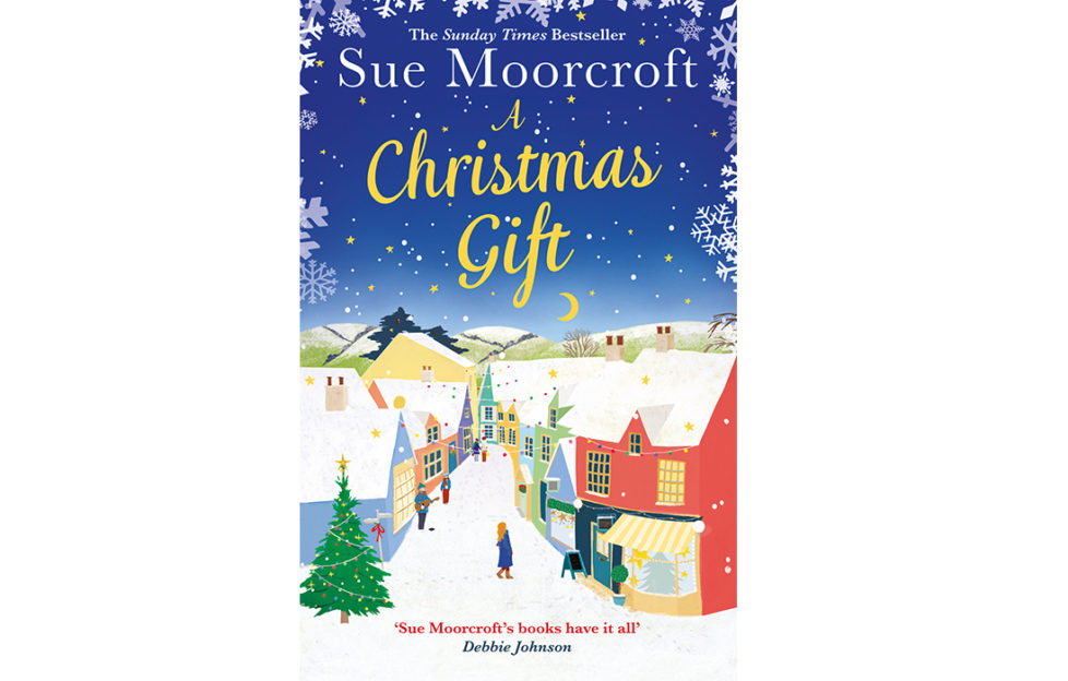 Cover of The Christmas Gift by Sue Moorcroft