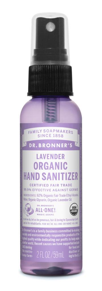 DR. Bronner Lavender Hand Sanitizer