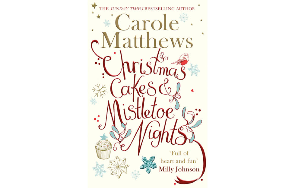 Front cover of Christmas Cakes and Mistletoe Nights