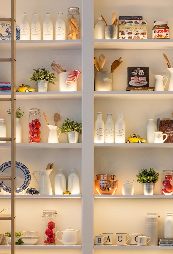 Floating shelves Photo by Jason Leung on Unsplash