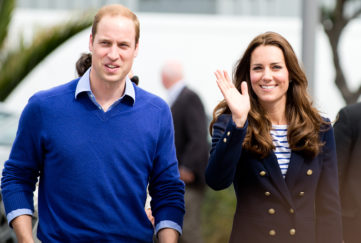 The Duke and Duchess of Cambridge Pic: Rex/Shutterstock