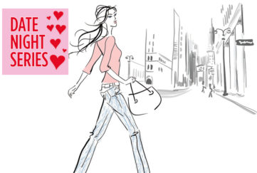 Woman walking confidentily through city Illustration: Istockphoto