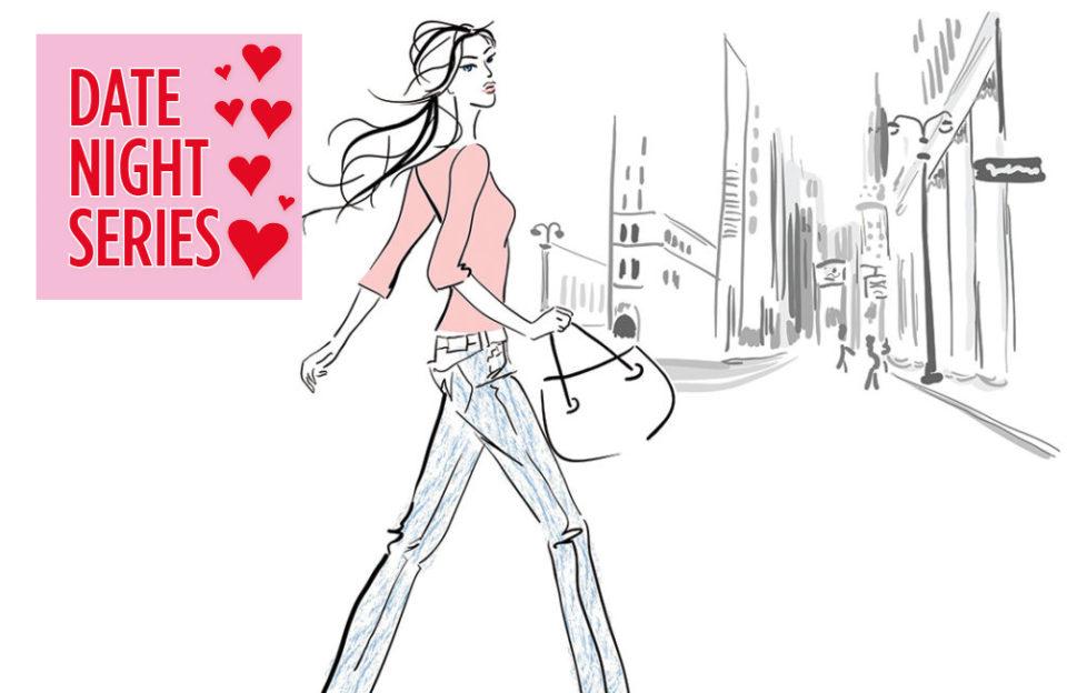 Woman walking confidentily through city Illustration: Istockphoto