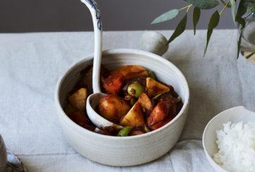 Ken Homs Mother's Braised East-West Beef Stew