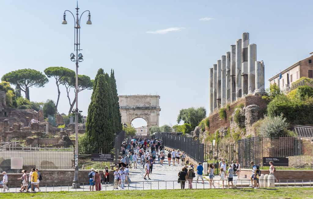 The Arch of Titus Pic: Istockphoto