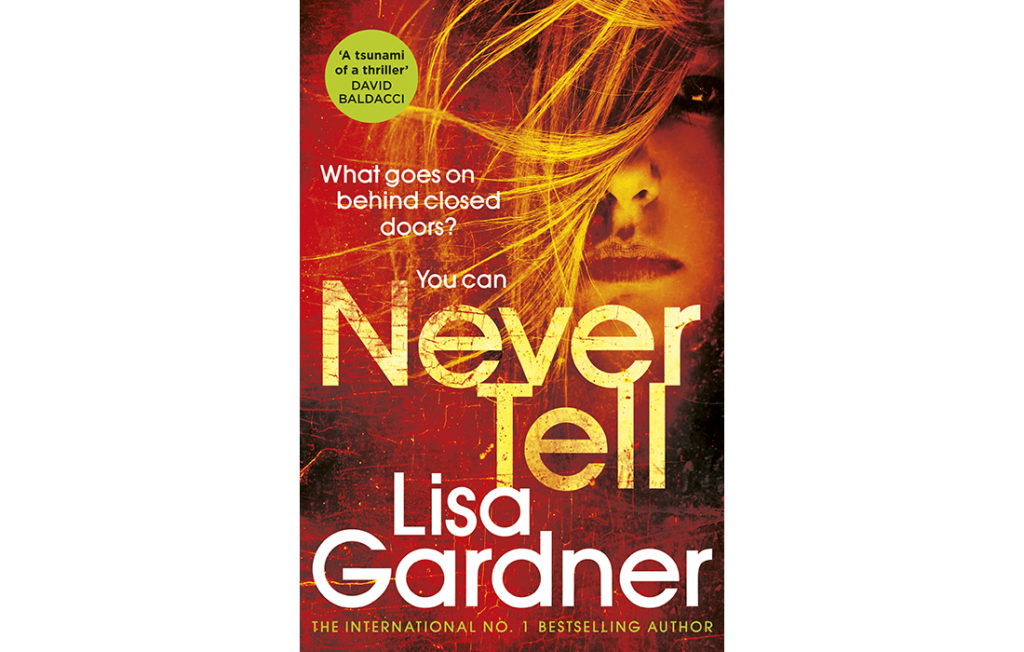 Never Tell book cover