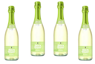 4 bottles deliciously light sparkling wine