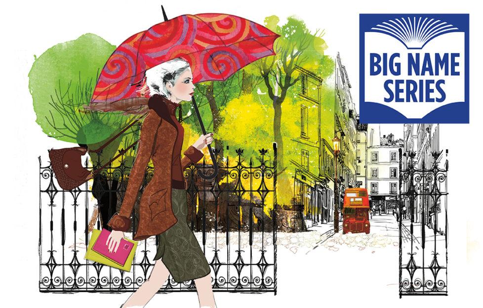 Stylish lady with a red umbrella Illustration: Thinkstock, Mandy Dixon