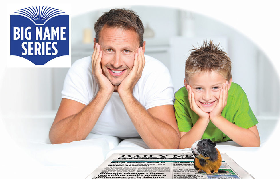 Dad and son with guinea pig Illustration: Rex/Shutterstock, Mandy Dixon