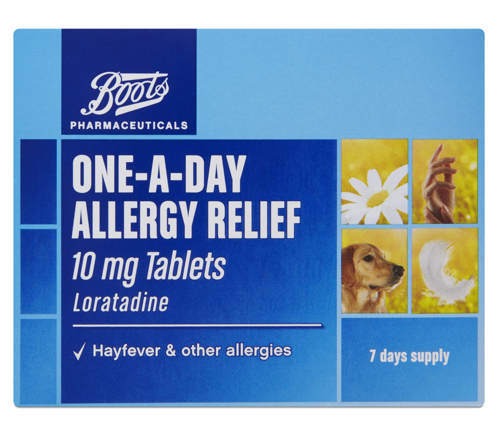 Boots One A Day Allergy Relief Tablets