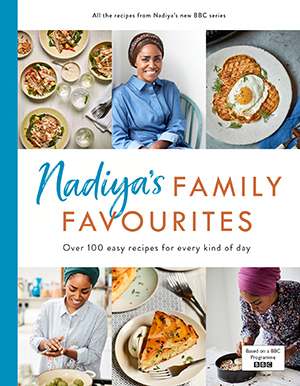 Nadiya's Family Favourites cookbook cover