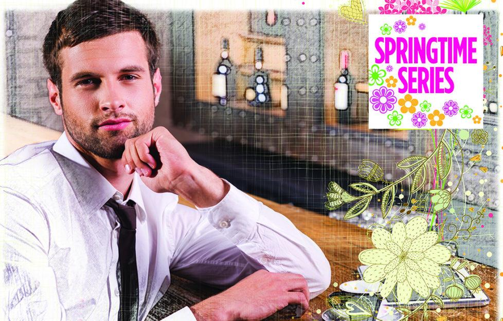 Handsome man sitting at bar Pic: Rex/Shutterstock, Mandy Dixon
