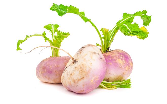 Three ripe turnips Pic: Istockphoto