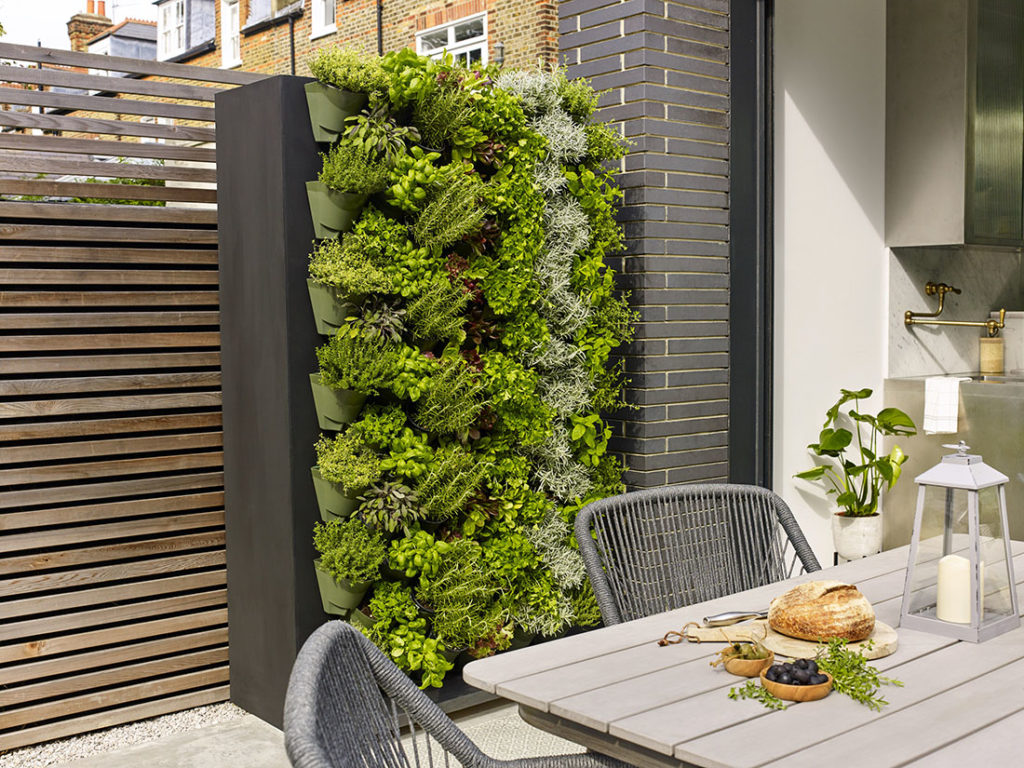 Contemporary living wall