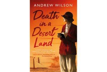 book cover of Death In A Desert Land