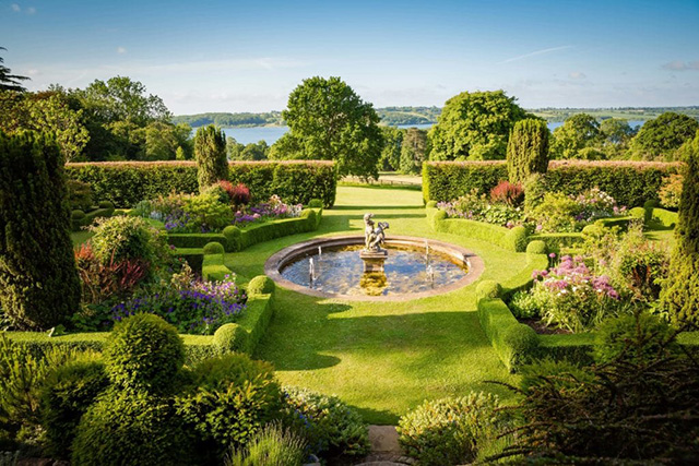 The stunning gardens of Hambleton Hall