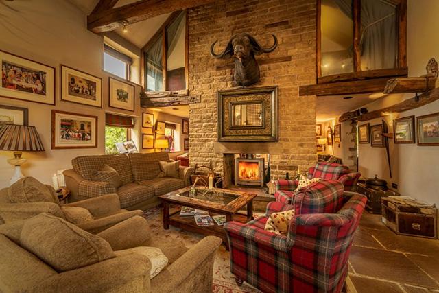 The Star Inn's cosy interior