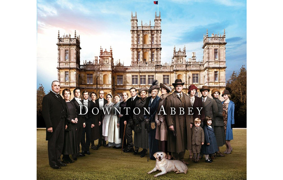 The Downton Abbey TV cast